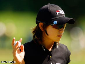 Ji kept her cool on the back nine to win her first major title.