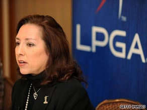 Commissioner Carolyn Bivens became increasingly unpopular with the LPGA Tour's playing members.