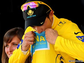 Contador is confident of keeping the coveted yellow jersey with the backing of teammate Lance Armstrong.