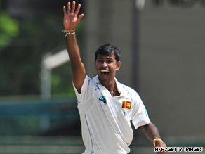 Danish Kaneria claimed his 13th five-wicket haul in Tests as Sri Lanka were bowled out within three sessions.
