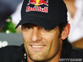 Mark Webber has bounced back after suffering a broken leg in Australia last November.
