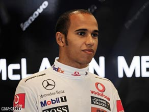 Lewis Hamilton showed improved form in first practice for the Hungary Grand PRix.