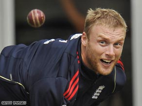 Flintoff bowled superbly at Lord's as England took a 1-0 series lead.