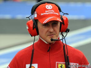 Schumacher will make a dramatic return at the European Grand Prix.