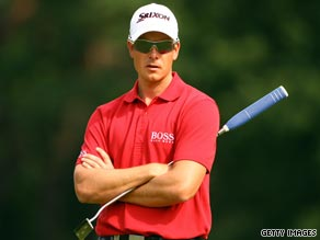 Stenson claimed the biggest victory of his career when landing the Players Championship in May.