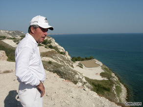 The Thracian Cliffs course near Varna is set to be completed by July 2010.