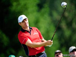 World number one Woods carded a five-under-par 65 as he attempts to win the tournament for a seventh time.