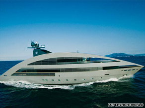 """Ocean Emerald"" is the second time Lord Foster has designed a superyacht."