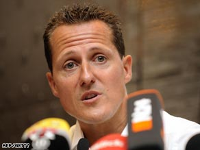Schumacher spoke of his disappointment as he explained his decision to abort his return.