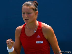 Dinara Safina needed less than an hour to brush aside Flavia Pennetta in the Cincinnati semifinals.