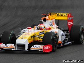 Fernando Alonso will be on the grid for Sunday's European Grand Prix after Renault's ban was overturned.