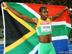 caster semenya gender test results. semenya celebrates her gold, which came just hours after the iaaf called for a gender caster test results
