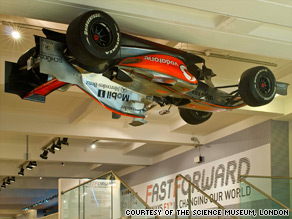 The Fast Forward exhibiton shows how F1 technology can improve all our lives.