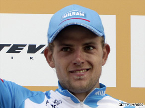 Gerald Ciolek won the German national road race title at the age of 18 in 2005, becoming the youngest to do so.