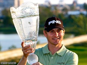 Slocum was claiming his third victory on the PGA Tour in the United States.