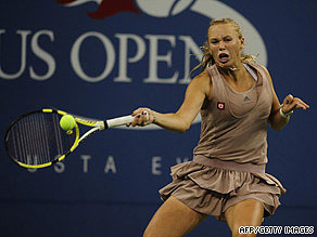 Melanie Oudin has become the darling of New York after continuing her astonishing run to the quarterfinals.