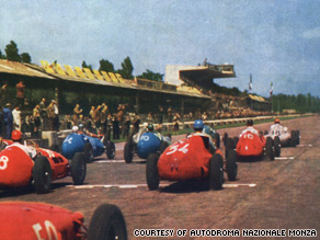 The 1951 Italian Grand Prix was won by Alberto Ascari. Four years later he was killed at Monza.