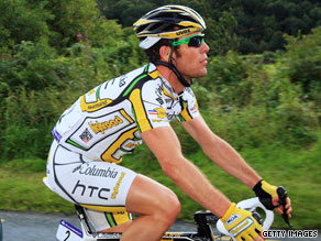 Mark Cavendish has withdrawn from the American event as a precaution due to ill health.