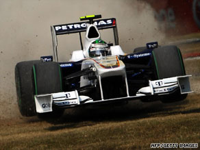 BMW Sauber's Nick Heidfeld may still have a chance to race in Formula One next year.