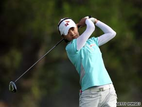 Choi was in superb form from tee to green as she carded a 63 at Torrey Pines.
