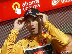 Valverde is comfortable in gold ahead of the final stage of the Vuelta.