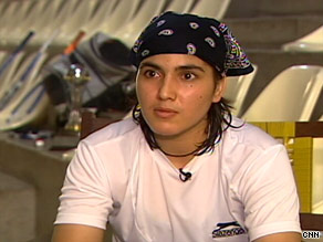 Maria Toor Pakay has overcome unusual adversity to rank among the world's top 100 squash players.