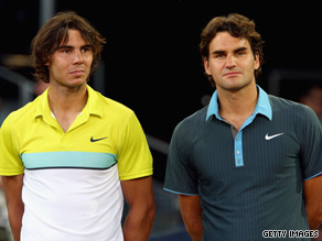 Nadal (left) and Federer have formed one of the great rivalries in world sport.