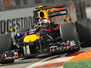 Red Bull driver Vettel will need to win in Singapore to retain his faint F1 world title hopes.