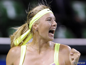 Sharapova was delighted to come through a tough third round match in Tokyo.