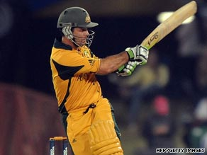 Ricky Ponting scored his 28th one-day international to help Australia crush England at Centurion.