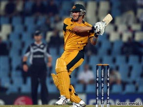 Shane Watson scored another superb century to help Australia defend the Champions Trophy.