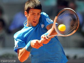 Novak Djokovic took just over an hour to cruise into the quarterfinals of the China Open.