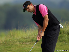 Quiros holds a two-stroke lead in Madrid despite not recording a top 40 finish in the Challenge Tour this year.