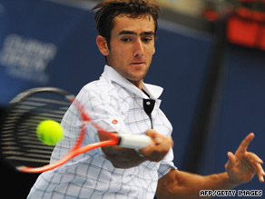 Croatia's Marin Cilic will be seeking to beat Serbian rival Novak Djokovic for the first time.
