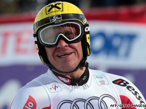 Hermann Maier is known for his spectacular all-action style -- and crashes -- on the piste.