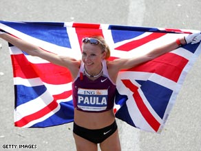 Paula Radcliffe will be aiming for her fourth New York Marathon title next month.