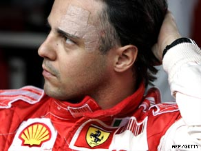 Felipe Massa is still showing the scars of his horror crash at the Hungarian GP in July.