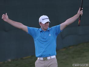 Laird claimed the biggest triumph of his fledging career in Las Vegas.