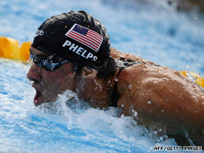 Michael Phelps is the most successful Olympic athlete of all time with 14 gold medals.