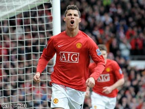 Ronaldo's goals fired United's brilliant 2008-09 campaign.