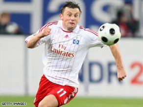 Olic will join Bayern Munich at the end of the season after proving a success in his time at Hamburg.