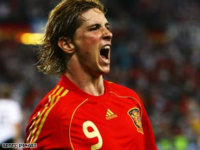 Player of 2008? Does Spain and Liverpool striker Fernando Torres get your vote for FIFA Player of the Year?