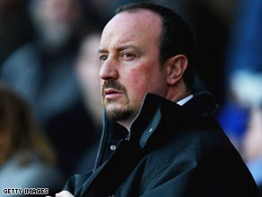 Liverpool manager Benitez has launched an outburst against his United counterpart Ferguson.
