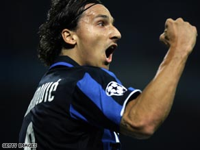 Ibrahimovic proved Inter's savior again, scoring a late equalizer to earn a point against Cagliari.
