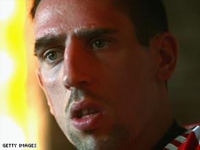 Ribery played a key role in Bayern's title success last season.