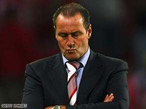 Stevens had endured a torrid time at PSV Eindhoven since taking charge at the start of the season.