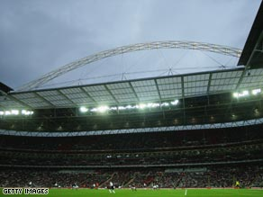 Wembley will host the Champions League final for the first time since Barcelona won the trophy in 1992.