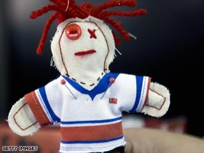 Funny or freaky? Voodoo dolls of U.S. players have been issued in Mexico ahead of a crucial football game.