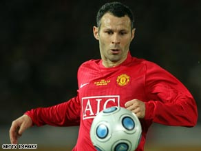 Giggs is still making his mark in the Manchester United first team after 18 years at Old Trafford.