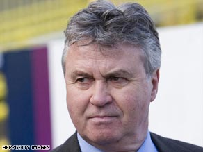 Well-traveled Dutchman Guus Hiddink has taken the Chelsea manager's job until the end of the season.